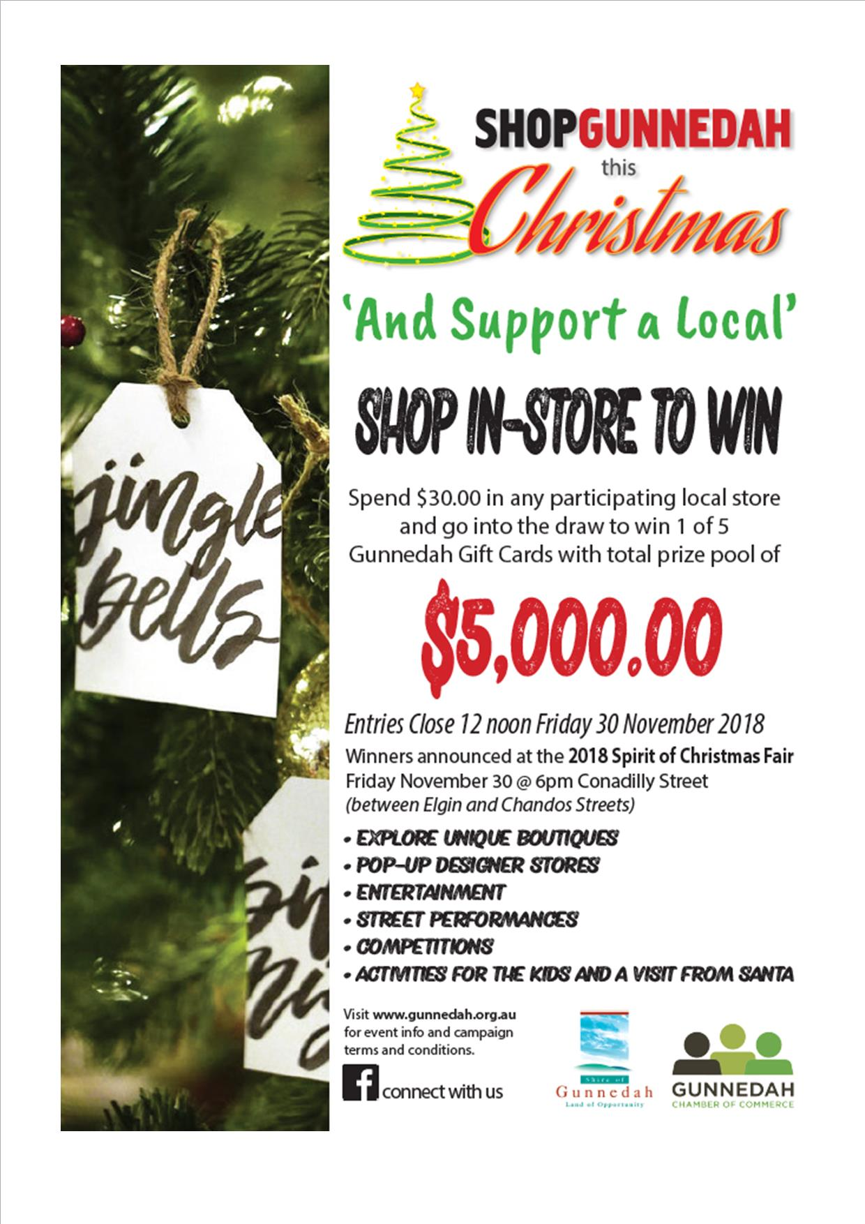 Christmas Fair - Shop in store to win